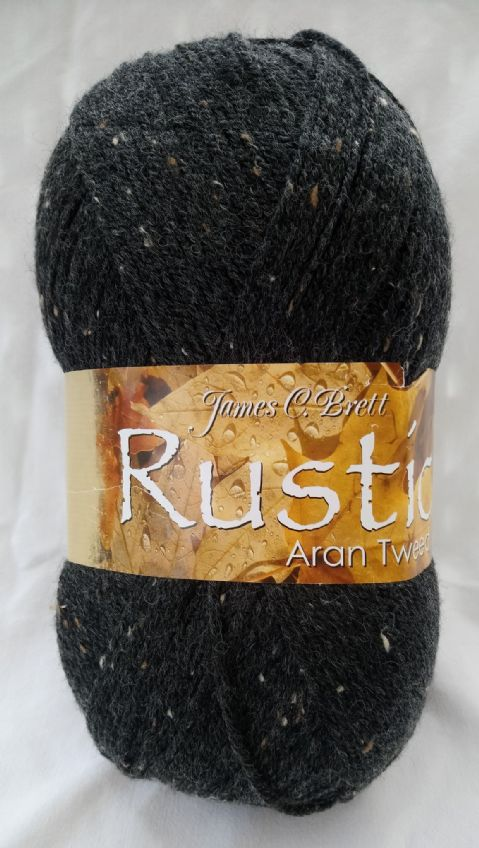 Rustic aran with wool 400g
